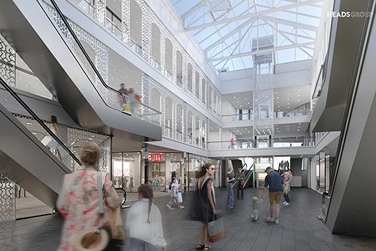 «В Казани мало ярких современных зданий, и этот торговый центр мог бы задать новую планку для городской архитектуры», — отмечает архитектор Heads Group