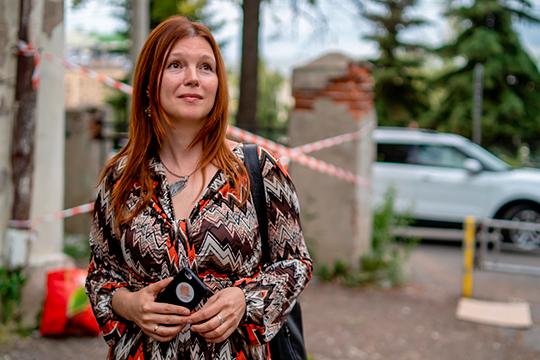 Олеся Балтусова: «Выражаю моральную поддержку народному ополчению против сноса бани в Дербышках»