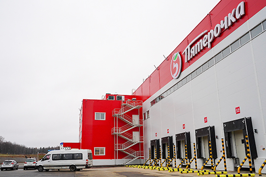 X5 Retail Group развивает логистику Татарстана