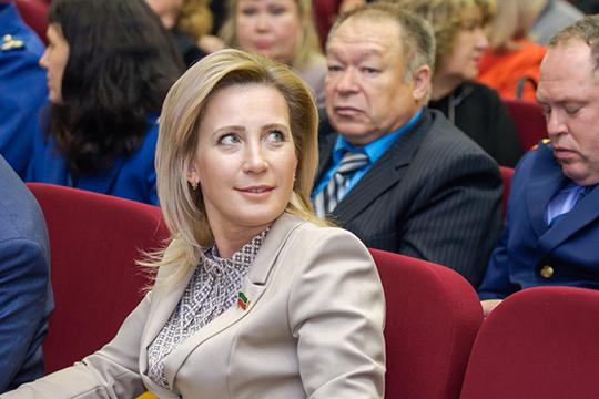 Получив мандат депутата Госсовета, резко (на 29 позиций) взлетела в рейтинге Людмила Рыбакова (8) — экс-замруководителя исполкома города по социальным вопросам
