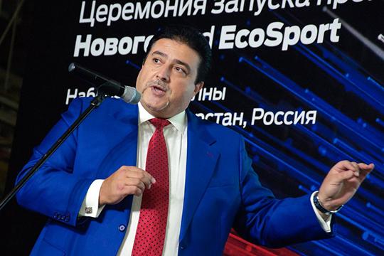 В шаге от первой тройки остановился Адиль Ширинов (4) — президент и гендиректор СП «ФордСоллерс»