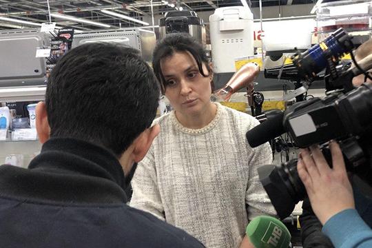 Лейсан Рахимова, управляющая: «Нет, я не знакома с господами Садыговыми, я это сказала в самом начале, на этом я хочу прекратить»