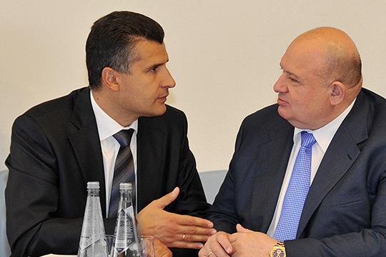 Как сообщил исполнительный директор ГАПа Сергей Раковец (слева), у пришедших в правительство профильных спецов есть понимание проблем института