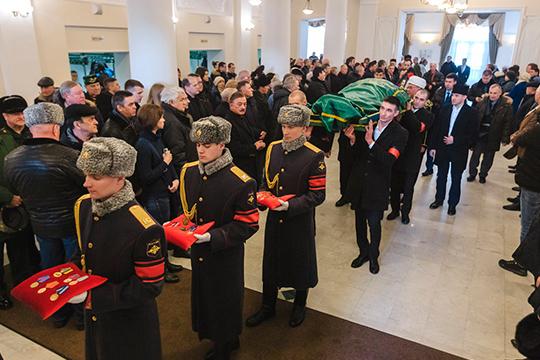 Кафиля Амирова похоронила намусульманском кладбище вСамосырово