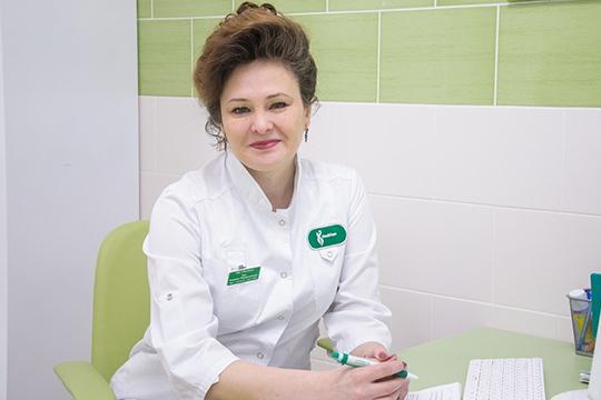 Хан Тюльпан Тимергалиевна, врач акушер-гинеколог, врач УЗИ