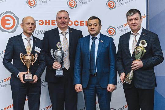 Почетное третье место занимает Камский филиал, на втором месте коллеги из Чистополя, а первое место занял Елабужский