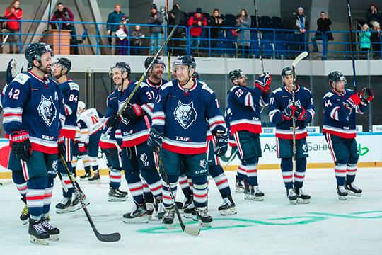 Под конец регулярного чемпионата «Нефтехимик» обеспечил себе участие в Кубке Гагарина.