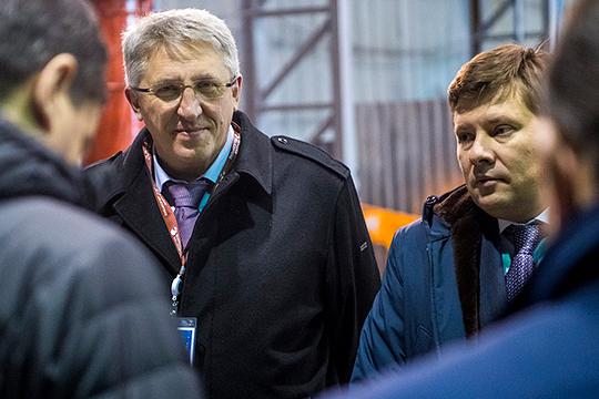 Юрий Пустовгаров (слева) декларирует адресную заботу о высококвалифицированных кадрах, а также намерен вкладываться в повышение уровня ИТР, поднимая им зарплату