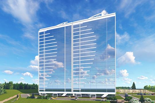 ЖК «Парус» — пример того, как современная архитектура не только не портит ландшафт, а даже способна стать его дополнением