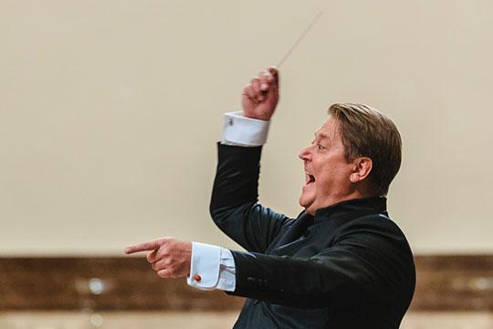 «Оркестр— наш, имузыканты будут понимать все сполсекунды, отлично представляя, что происходит, иочень хорошо владея материалом»