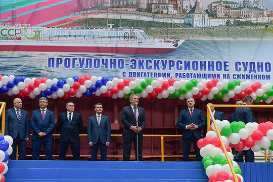 Вчера на заводе им. Горького» заложили речное прогулочно-экскурсионное судно проекта 03622 «Чайка»