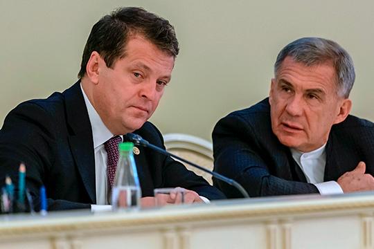Пользуясь присутствием президента РТ Рустама Минниханова, градоначальник говорил больше о стратегических задачах 2020 года, вписав их в красивую цифру «20»