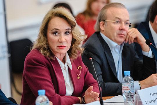 Гульнара Сергеева призвала бизнес-сообщество Татарстана присоединиться к антикоррупционной хартии, которая была подписана ТПП РФ, РСПП, «Деловой Россией» и «Опорой России» еще в 2012 году