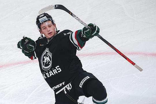 20-летний центрфорвард Артём Галимов забросил в этом сезоне восемь победных шайб — это лучший показатель во всей КХЛ