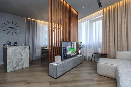 Поближе познакомиться с системой «умного дома» можно в шоуруме, расположенном на 4 этаже башни «Архитектура»