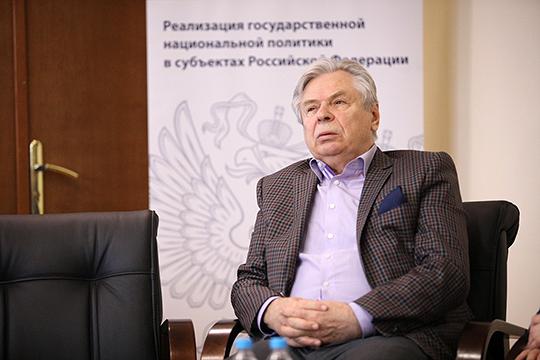 Валерий Тишков раскритиковал поправку потому, что у нас в стратегии государственной и национальной политики нет термина «государствообразующий народ»