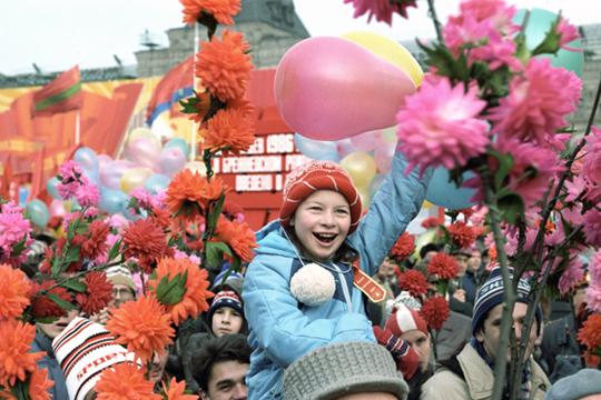 «Хотя Международный женский день 8марта небыл тогда выходным, нопраздничные мероприятия всеже проводились»
