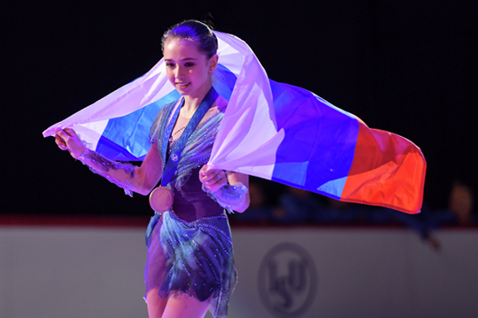 «Вдетстве недумала, что стану чемпионкой мира»: Камила Валиева– лучшая!