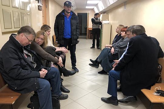 Кроме Дьяконова иАбдуллина судят еще пятерых сотрудников КХТИ, ихобвиняют вхищении 64млн рублей по10 эпизодам