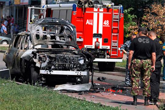 Виюле 2012 года вКазани был совершентеракт— убит имамВалиуллаЯкупов,взорвана машина муфтия РТИлдуса Файзова