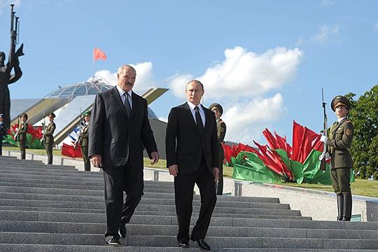 «Если брать Беларусь, то, несмотря наеемногократные обещания, зайти набелорусский рынок сроссийской продукцией итем более, допустить российский капитал вместный аграрный бизнес, белорусы так инепозволили»