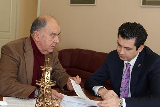 Шамиль Агеев:«Ему больше надо работать взащите законных прав иинтересов предпринимателей: наводить порядок спроверки, штрафами, взаимодействием справоохранительными органами»