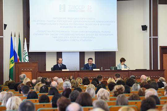Республика прорабатывает вопрос оботкрытии вНабережных Челнах второго центра медицины катастроф, который могбы закрыть потребность северо-востока Татарстана воперативной доставке пациентов