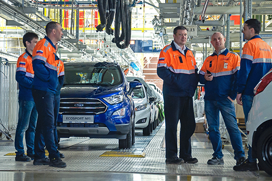 «На падение объемов промпроизводства повлиял и уход «Форд Соллерса». Но закрытие завода не отразилось на ситуации с занятостью: 800 сотрудников без работы не остались»