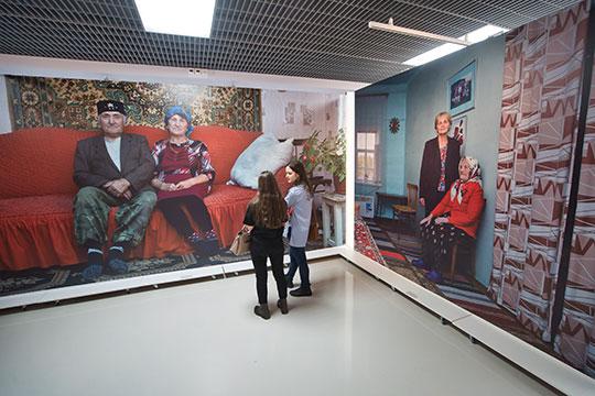 Вгалерее современного искусства ГМИИ РТидет выставка екатеринбургского фотографа Сергея Потеряева «Тартария