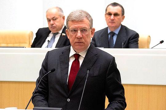 Алексей Кудрин: «При цене 35 долларов за баррель и курса рубля около 72 рублей за доллар, мы получим нефтегазовых доходов на 3 трлн меньше»