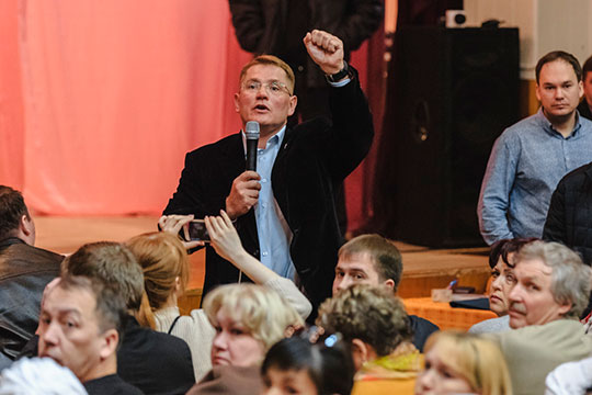 В список влиятельных попал, конечно же, и председатель комитета Госсовета РТ по жилищной политике и инфраструктурному развитию Александр Тыгин