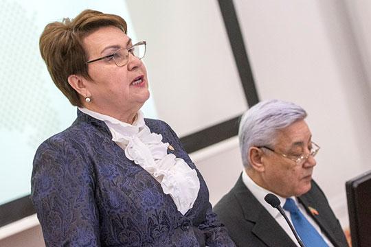 Любопытна роль уполномоченного по правам человека в РТ Сарии Сабурской — она ответственна за «жалобную книгу» сферы ЖКХ РТ «Народный контроль»