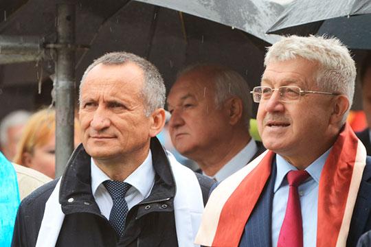 Профильных специалистов в сфере ЖКХ РТ готовят два вуза: КГЭУ во главе с Эдвардом Абдуллазяновым (слева) и КГАСУ, возглавляемый Рашитом Низамовым (справа)