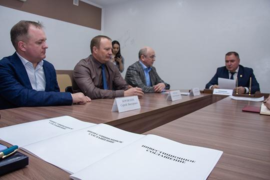 Валерий Чершинцев:«Ятак понимаю, унас уже 6 потенциальных резидентов. Одного доплана нехватает. Нодело даже невплане. Дело впривлекательности территории. ВЧелнах засилие Haier»