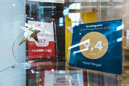 Фактор, который напрямую влияет нарост популярности отеля—его рейтинги насайтах-агрегаторах. Так, гости «Ногая» ставят высокие баллы его расположению, питанию иидеальной чистоте