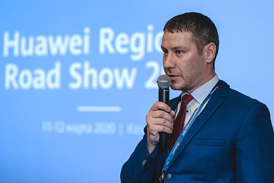 Константин Никошин рассказал о цифровой трансформации«Казань Экспо» на оборудовании Huawei