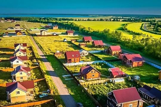 Коттеджный поселок «Умырзая» - проект реализованный компанией в Лаишевском районе на берегу Камы с собственной управляющей компанией