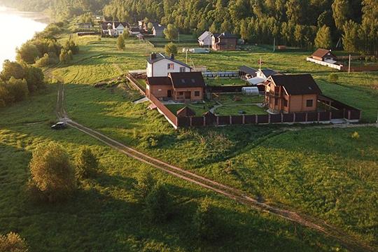 КП «Лесное озеро» в Зеленодольском районе. Также есть Поселки в Пестречинском, Рыбно-слободском и Лиашевском районах