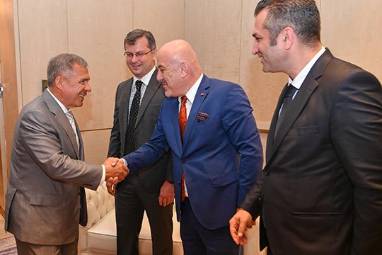 Мукомольный проект был презентован президенту ТатарстанРустаму Миннихановуеще 16мая 2019 годавовремя его визита вСтамбул