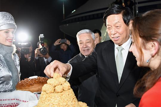 «В 2019 году Татарстан поочередно посетили три высокопоставленных лица Китая» (на фото председатель постоянного комитета Всекитайского собрания народных представителей Ли Чжаньшу)