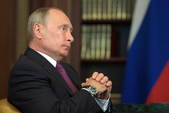 """Владимир Путин:«Длинные выходные предусмотрены, чтобы снизить скорость распространения болезни. Обращаюсь ковсем гражданам страны, давайте небудем поступать, полагаясь нанаш русский """"авось""""»"""