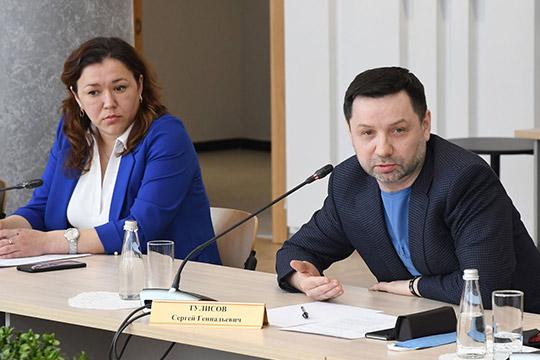 Наиля Мухаметова иСергей Тулисов