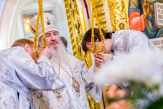 13июля 2015 года назначен митрополитомКазанским иТатарстанским, главойТатарстанской митрополии. Соктября 2015— ректор Казанской духовной семинарии