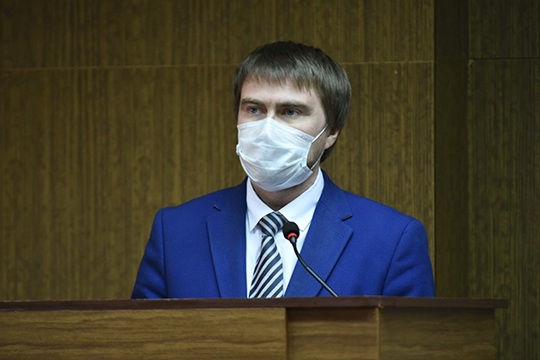 Александр Николаев:«Насегодняшний день вбольнице находятся двое пациентов сподтвержденной коронавирусной инфекцией»