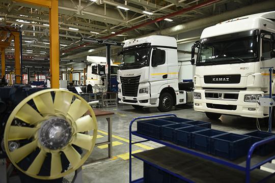 ООО«КАМАЗ-Энерго» продолжает работу сменами примерно по80 человек