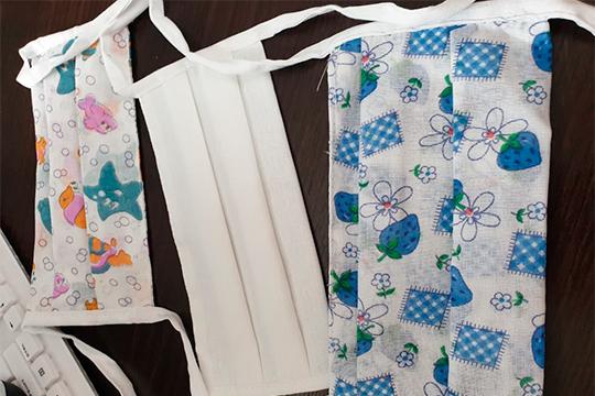 """ООО""""Бугульминская швейная фабрика"""" реализовала почти 30 тыс. штук масок: сначала производили белые, теперь просят цветные и с детскими рисунками"""