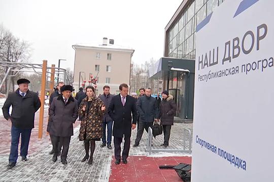 Масштабный проект в2019 году инициировалРустам Минниханов. Президент РТобъявил онем накануне выборов вГоссовет 8сентября, подчеркнув, что стакой идеей выступила партия «Единая Россия»