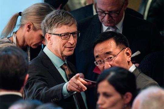 «Билл Гейтс — большой друг Демократической партии США и главный спонсор клана Клинтонов