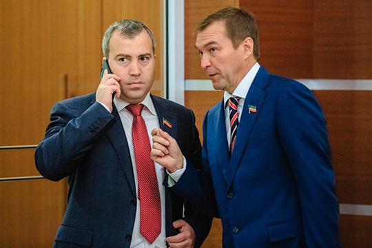 Дмитрий Самаренкин (справа) иМихаил Сыровацкий (слева)