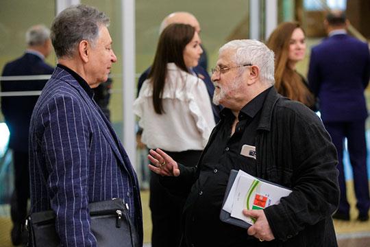 Рауфаль Мухаметзянов (слева) иАлександр Славутский (справа)